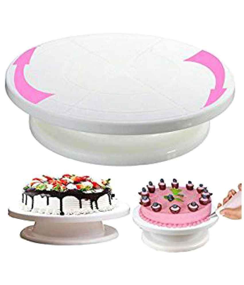 Okayji Round Revolution Rotating Cake Turntable