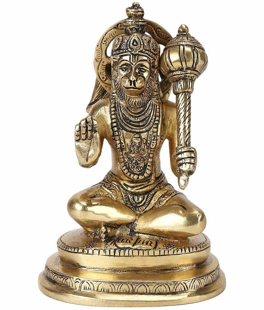 Keshavaay Hanuman Brass Idol