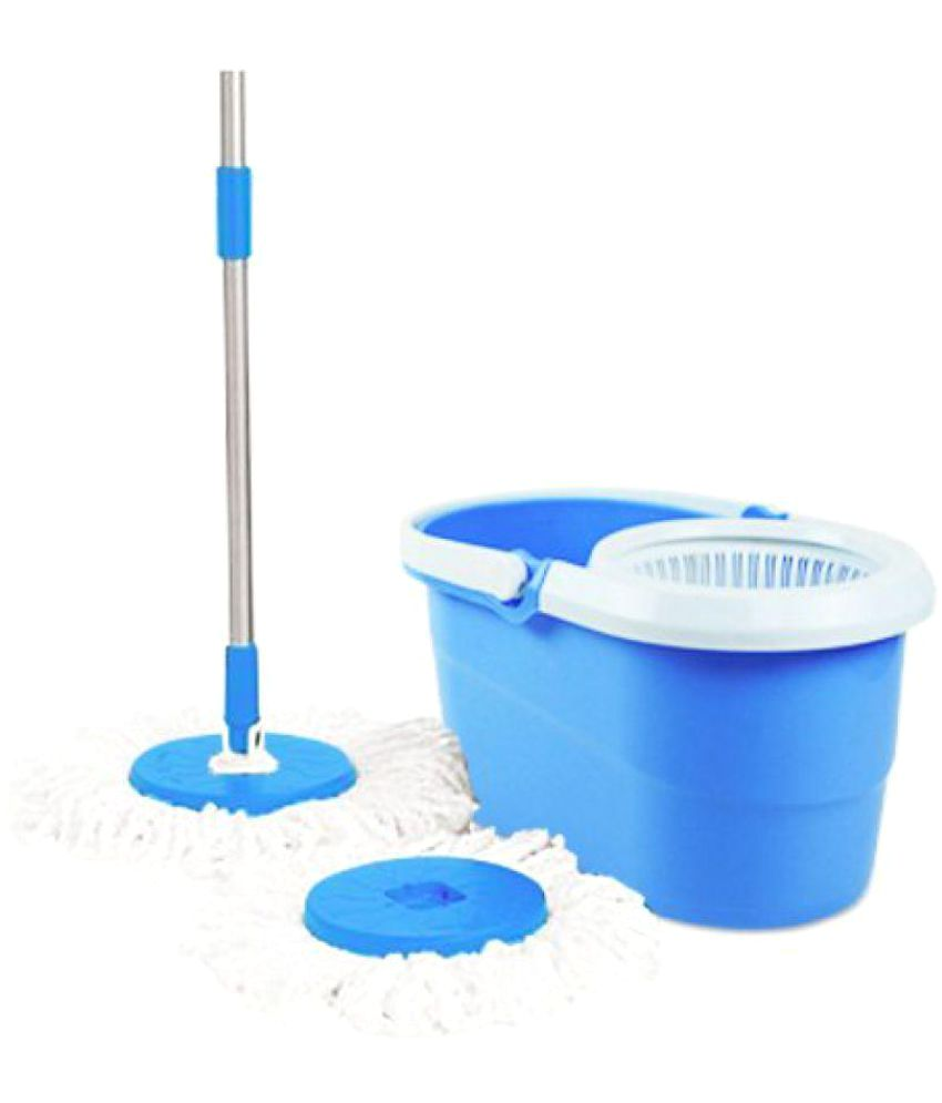 Munjapara Enterprise Blue Plastic Magic Mop