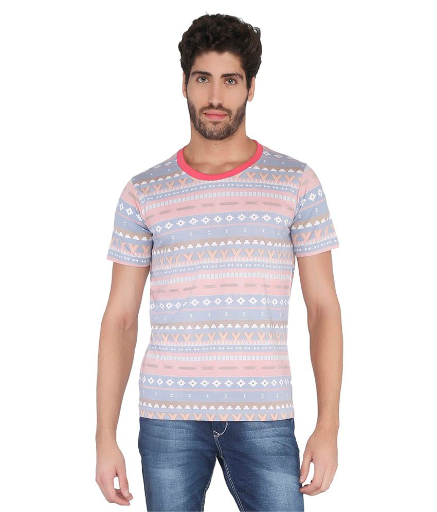 Blotch Multi Round T-Shirt
