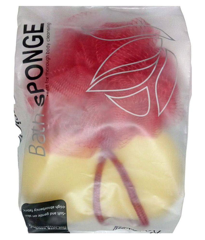 Edee Loofah Assorted Colours Pack of 2