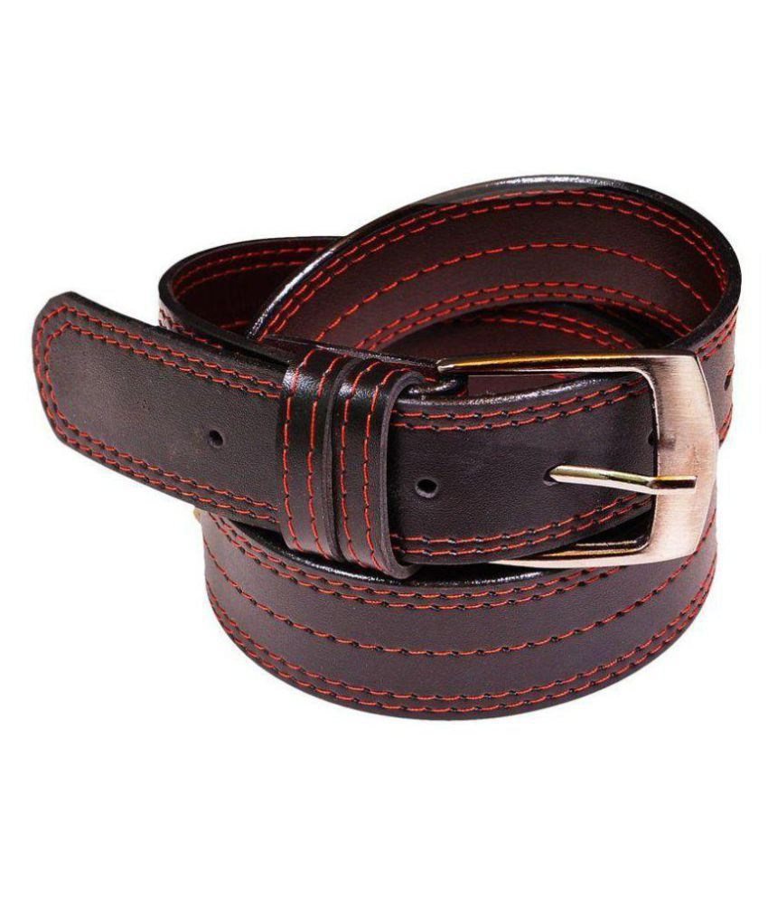 Oodi Brown Faux Leather Casual Belts