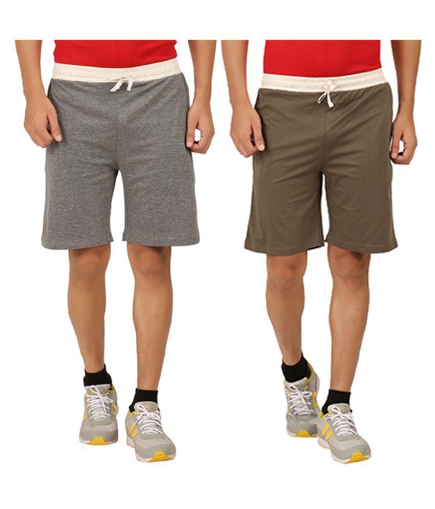 Rawpockets Multi Shorts
