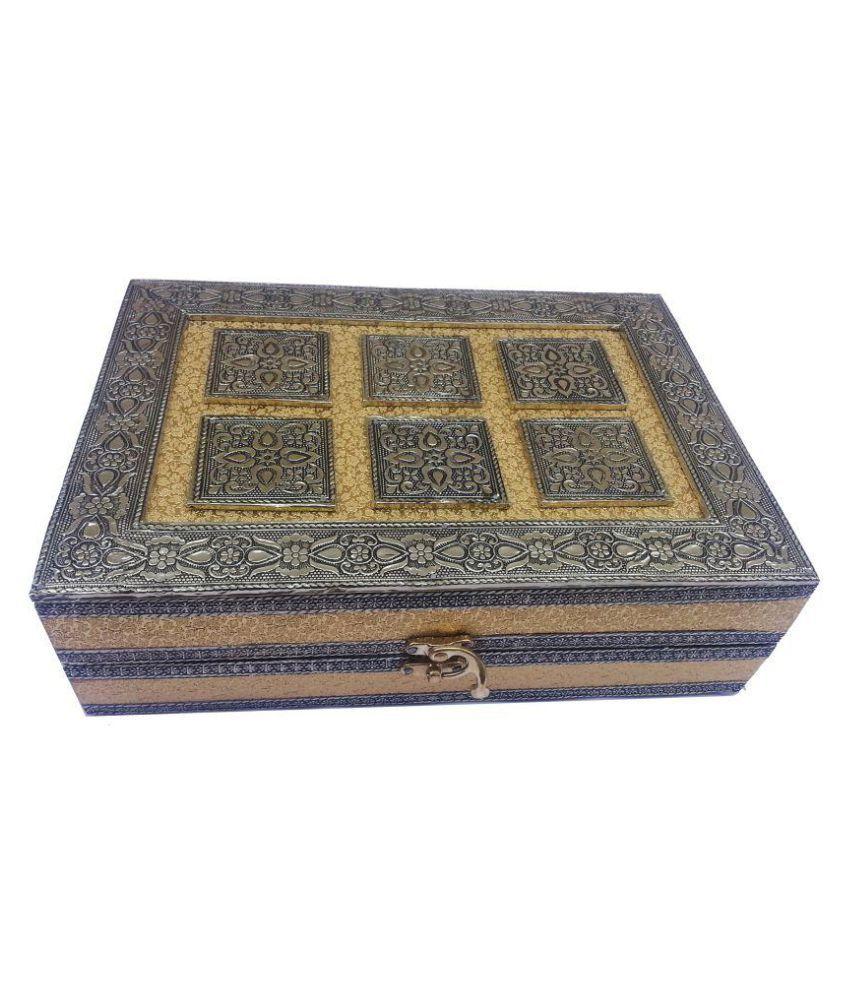 TGE Multicolour Wood Jewellery Box