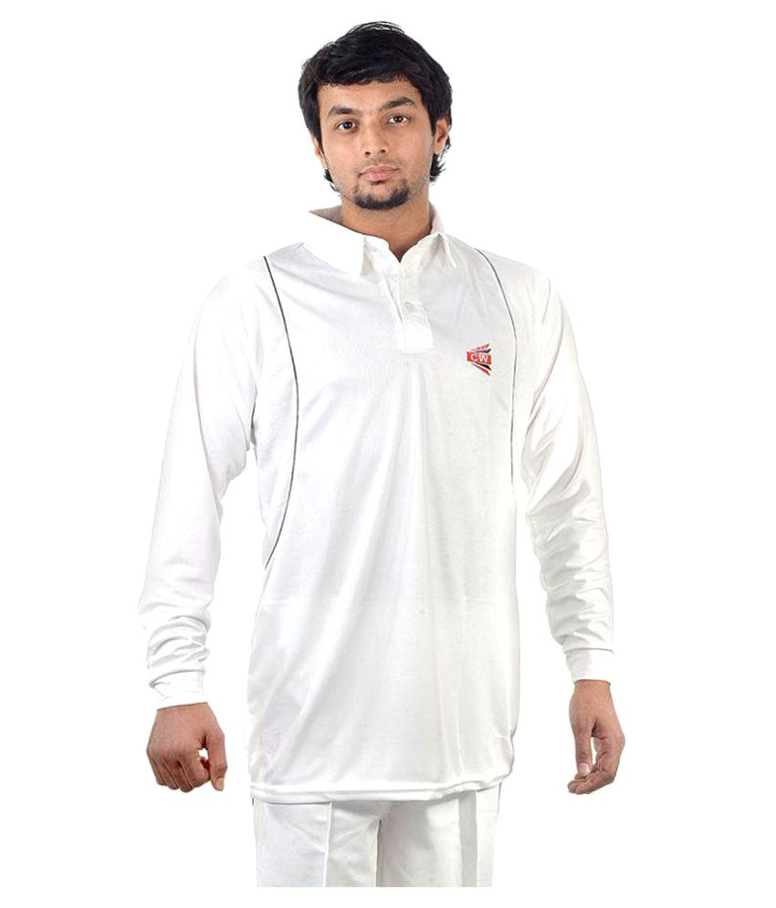 CW Cricket Full Sleeves T-Shirt in Cotton Drifit