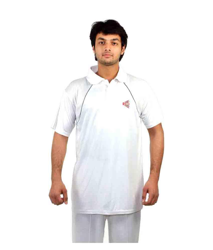 CW White Cotton T-Shirt Single Pack