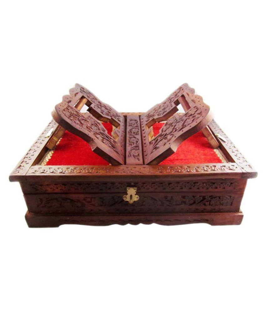 Ikashan Brown Jewellery Box