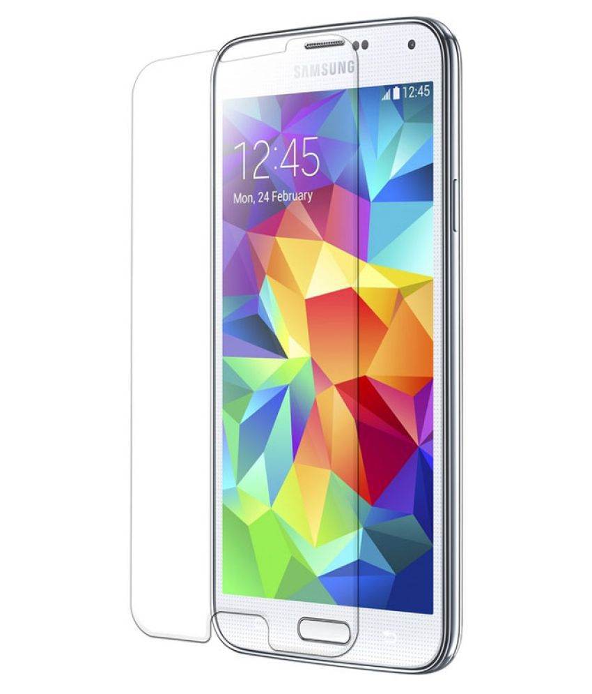 Samsung Galaxy S5 Tempered Glass Screen Guard By THE LUCKY ONES