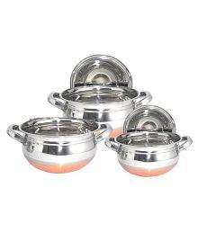 Serveware buy serveware online at best prices in india on for Kitchen set bartan