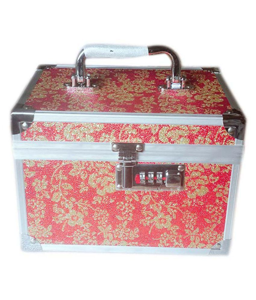 Bonanza Multicolour Aluminum Jewellery Box