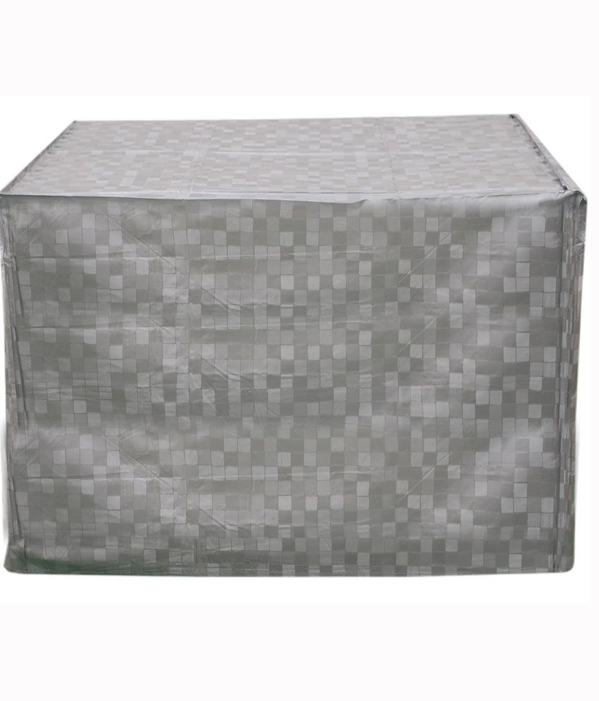 aa8a06ea6d9 ... E-Retailer Silver P.V.C Air Conditioner Cover For 1.5 Ton (Window AC  Cover)