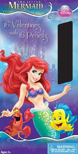 Paper Magic Little Mermaid with Bonus Pencils (16 Count)
