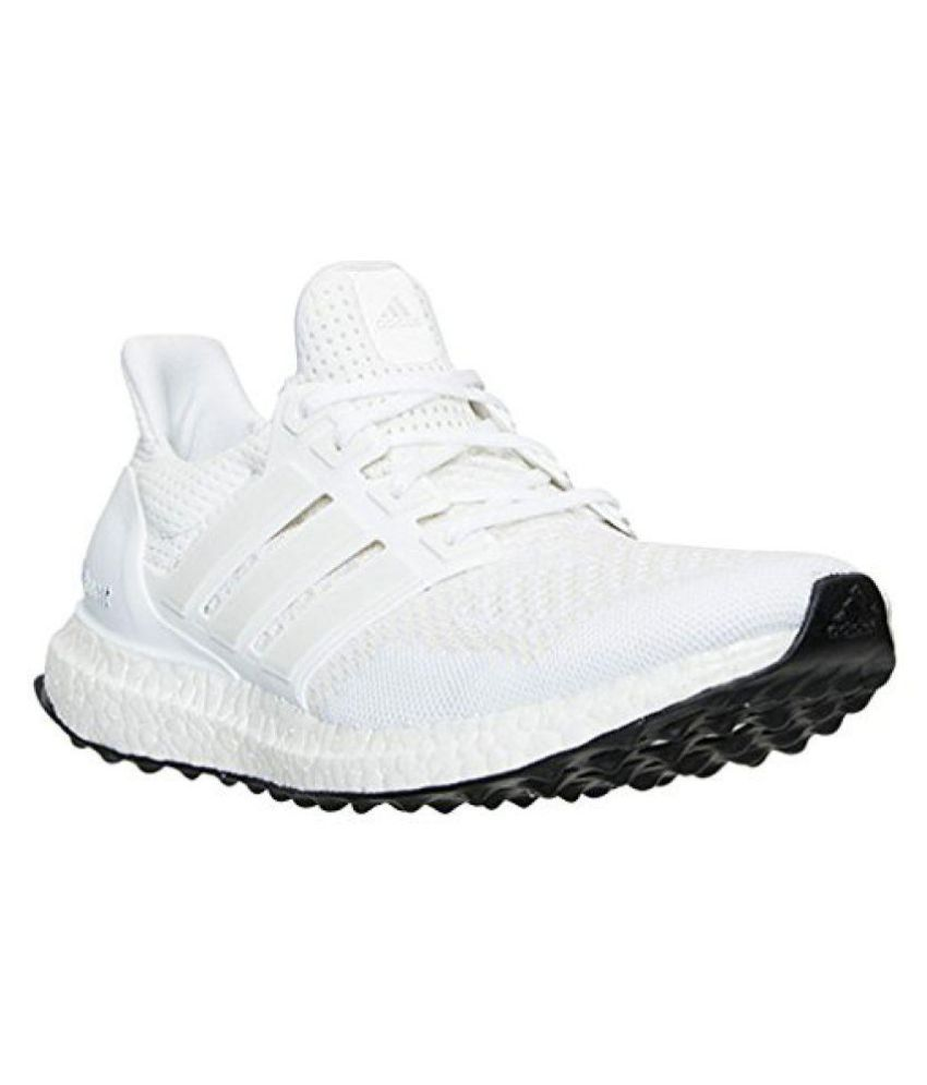 white adidas ultra boost shoes