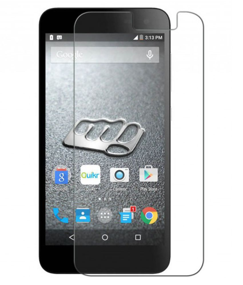 Micromax Canvas Blaze 4G Q400 Tempered Glass Screen Guard By Hook