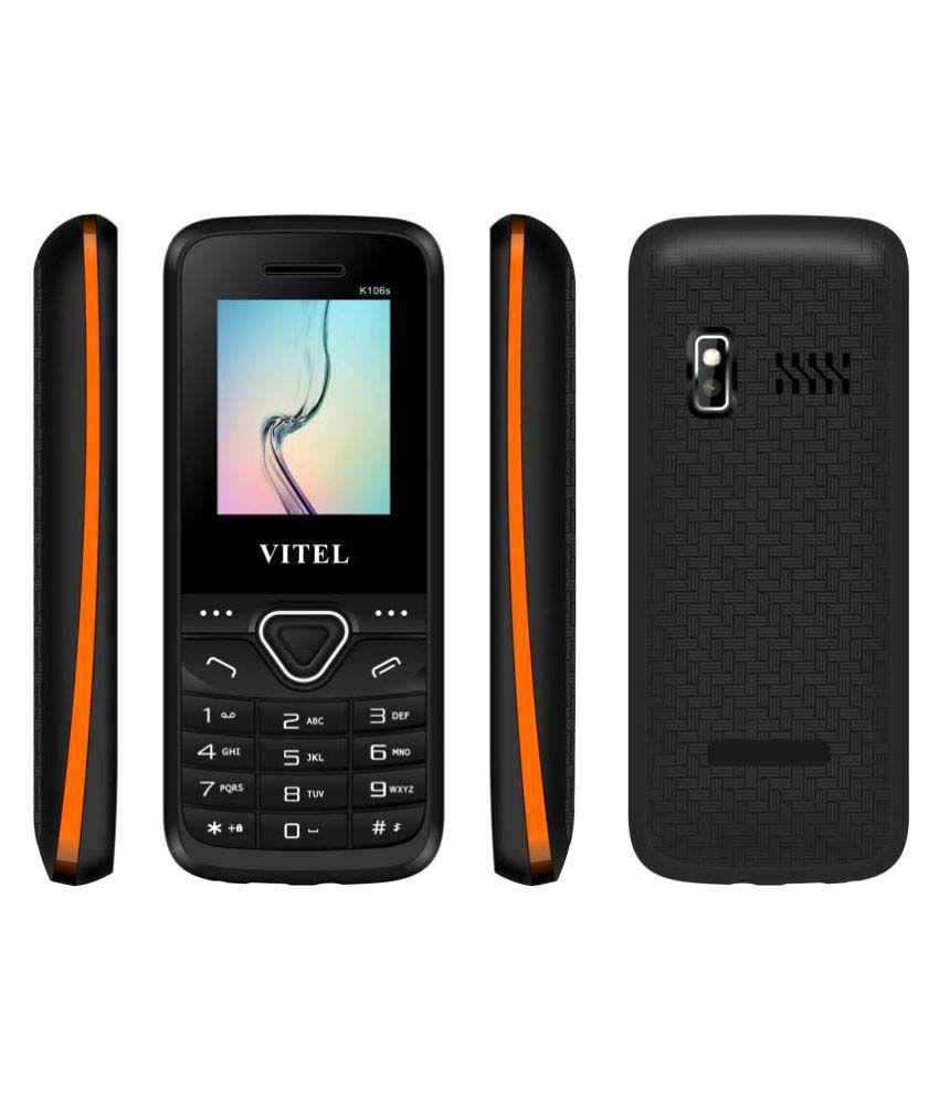 Vitel K106s 4GB and Below Black