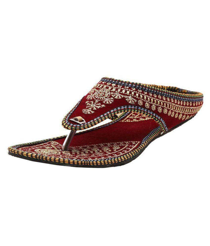 Sai Fashions Multi Color Flat Flats