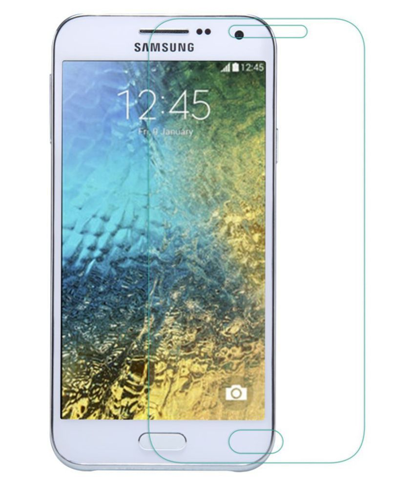 Samsung Galaxy E5 Tempered Glass Screen Guard By Hook