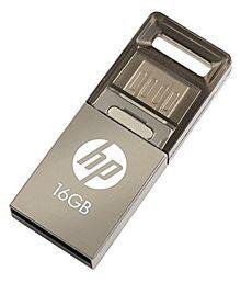 HP USB 2.0 OTG hpv510m 16GB USB 2.0 OTG Pendrive Silver