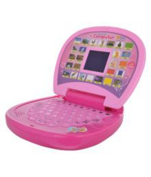 BBS English Learning Led Laptop For Kids With Water Pearls Balls-120