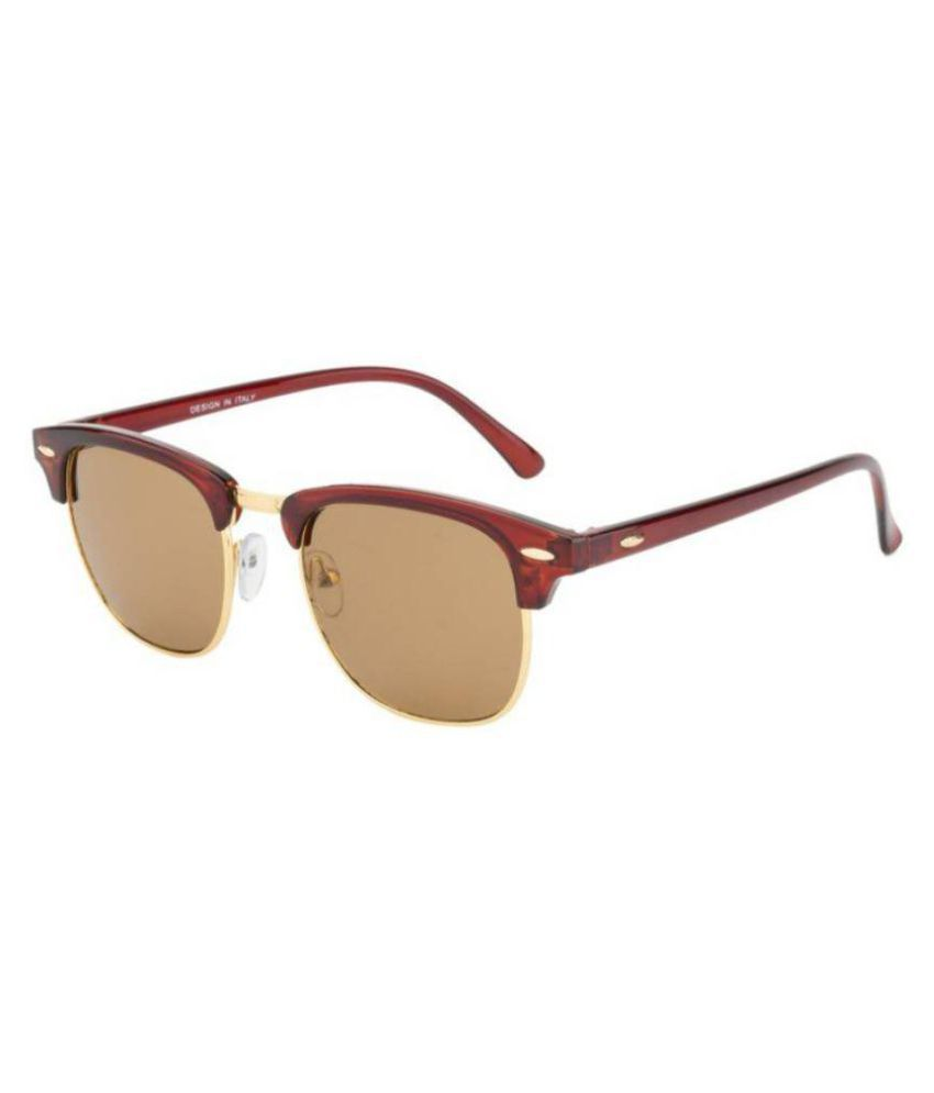 Allen Cate Brown Clubmaster Sunglasses ( CM502 )