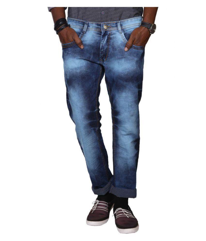 Jugend Blue Regular Fit Washed