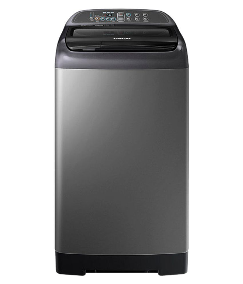 Samsung 6.5 WA65K4400HA Fully Automatic Fully Automatic Top Load Washing Machine Inox Grey