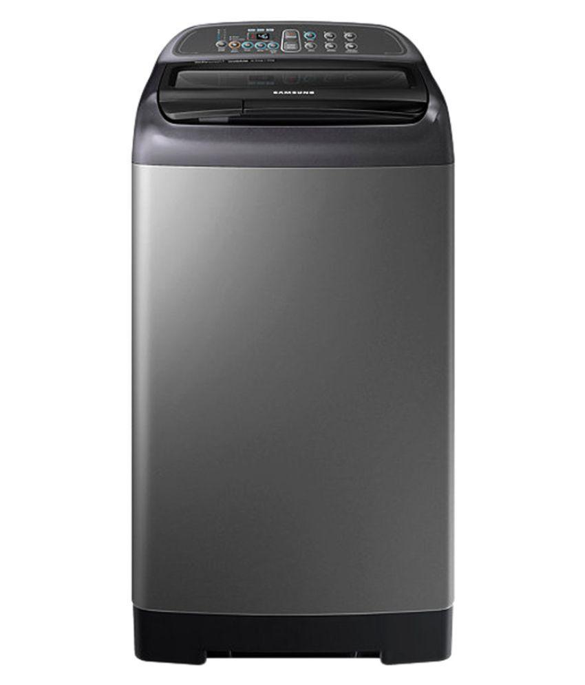 Samsung 6.5 WA65K4400HA Fully Automatic Fully Automatic Top Load Washing Machine Inox Grey