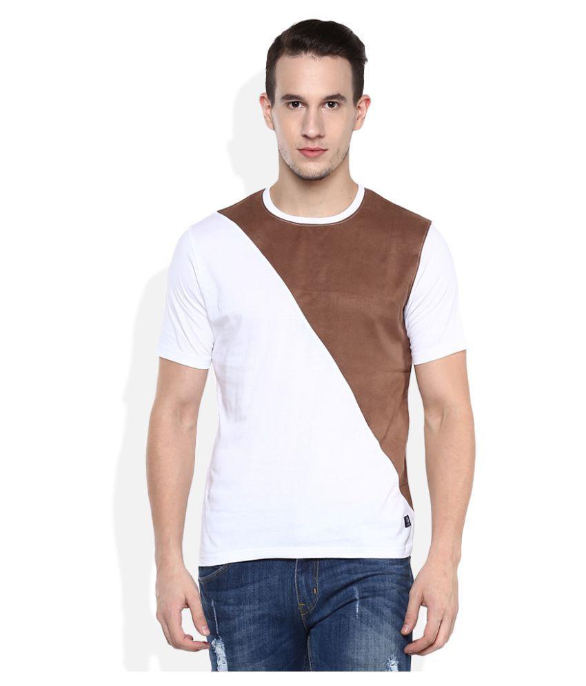 UMM White Round T-Shirt