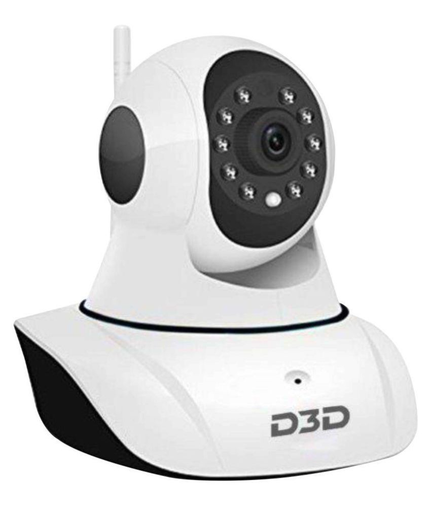 D3D Security Wireless Ip Camera Wi-Fi PTZ 1280 x 720 Camera Price ...
