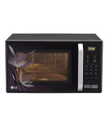 LG 21 Ltrs MC2146BP Convection Microwave Oven Black