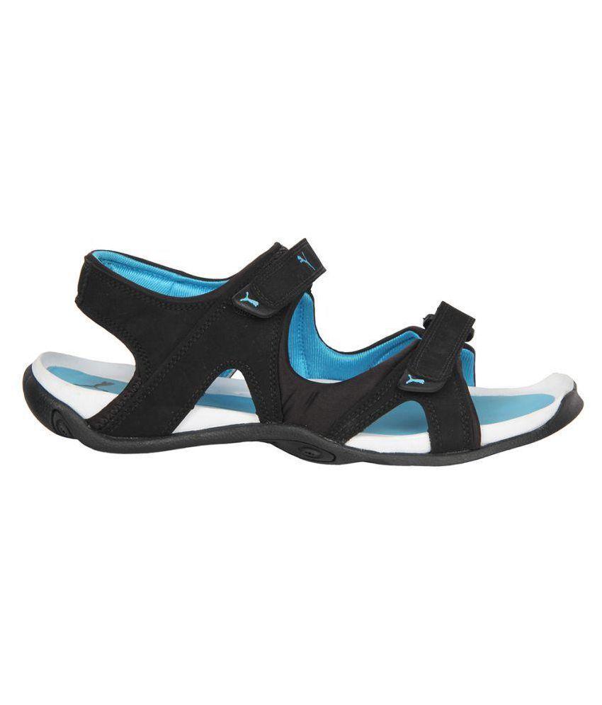 16b055090f2 Puma PUMA SANDAL Jimmy DP Black Floater Sandals - Buy Puma PUMA ...