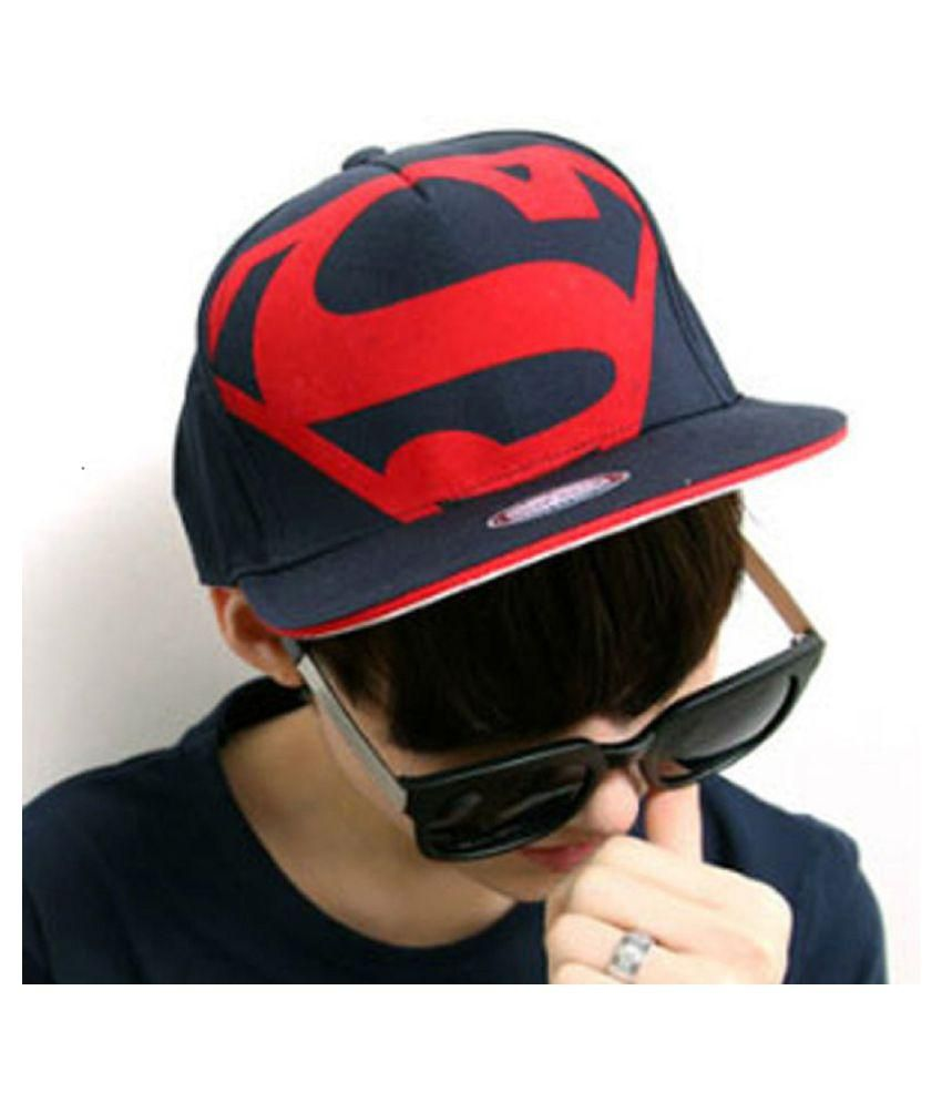 29b8d53a3ea36f Fas Printed Superman Snapback and Hip Hop Caps - Buy Online @ Rs. | Snapdeal