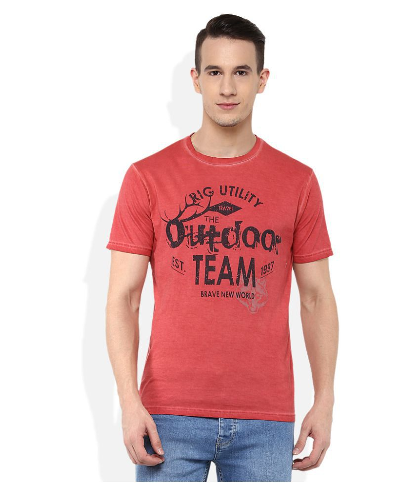 Rig Red Round T-Shirt