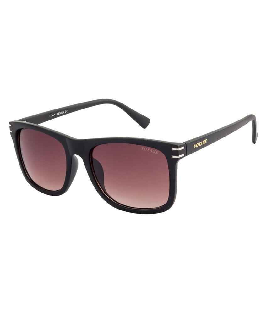 Voyage Brown Square Sunglasses ( V0906 )