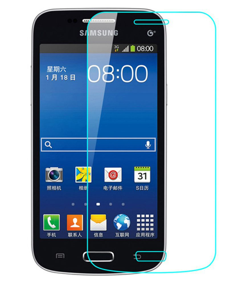 Samsung Galaxy Core Plus Tempered Glass Screen Guard By Hook