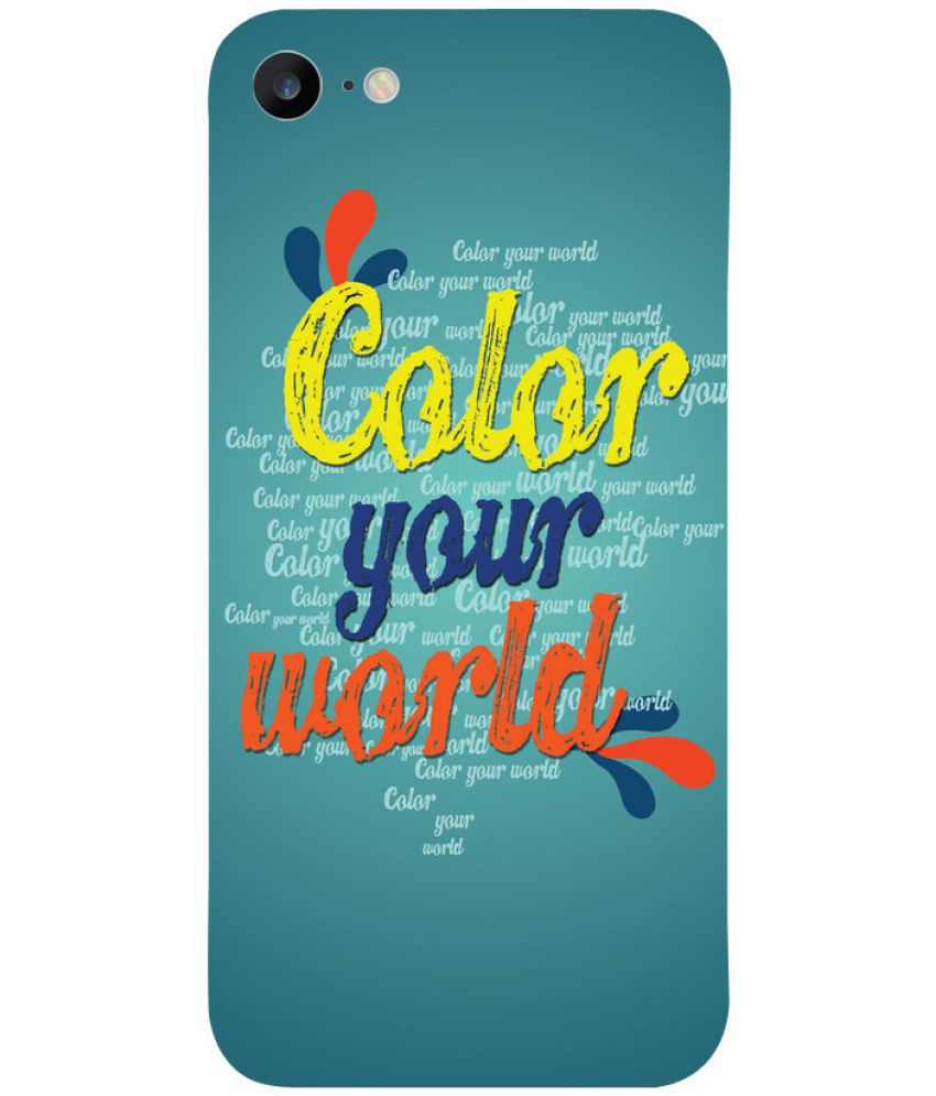 Apple iPhone 7 Printed Cover By Digi Fashion