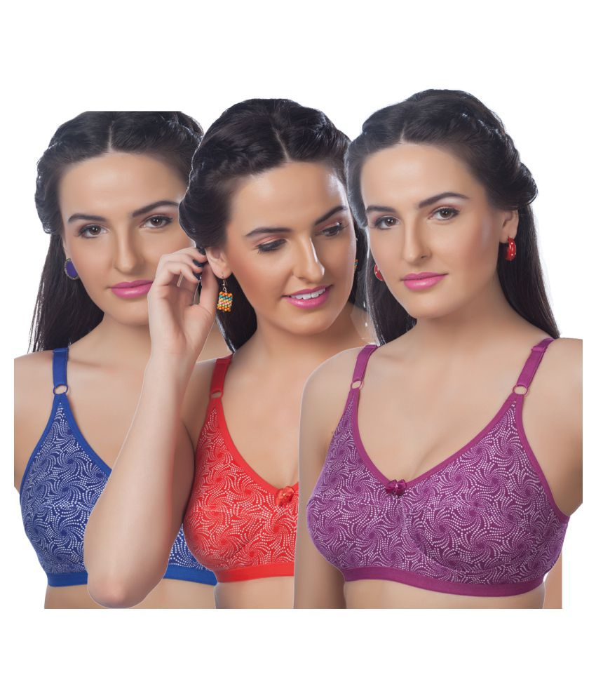 bdbf7c080e Buy Skiva Multi Color Silk Push Up Bra Online at Best Prices in India -  Snapdeal