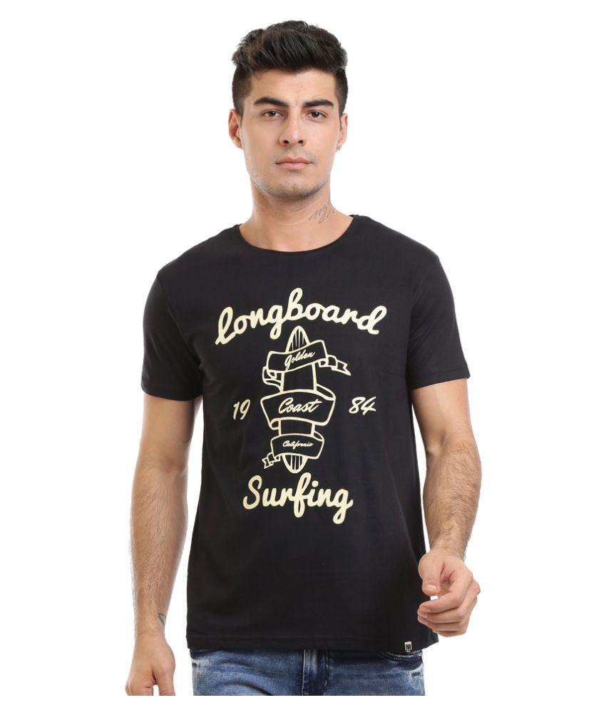 HW Black Round T-Shirt