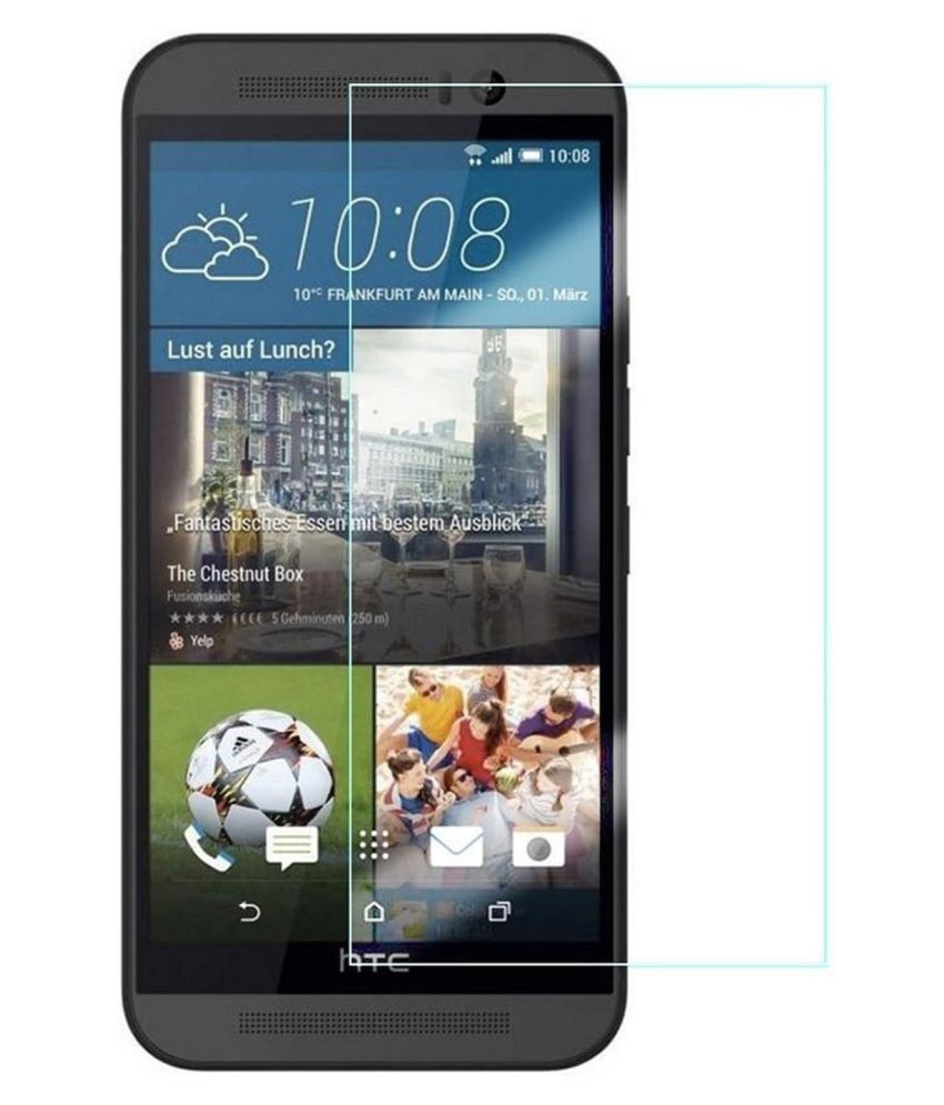 HTC Desire 828 Tempered Glass Screen Guard By Hook