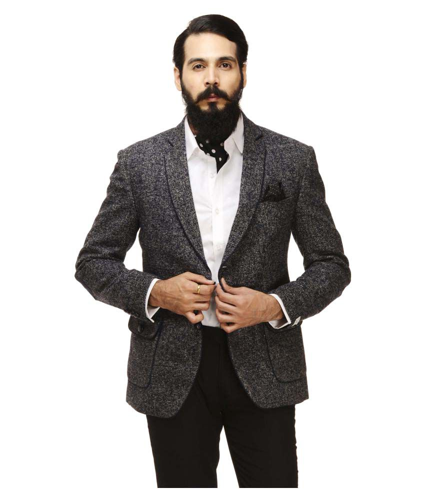 Monteil & Munero Multi Self Design Casual Blazers