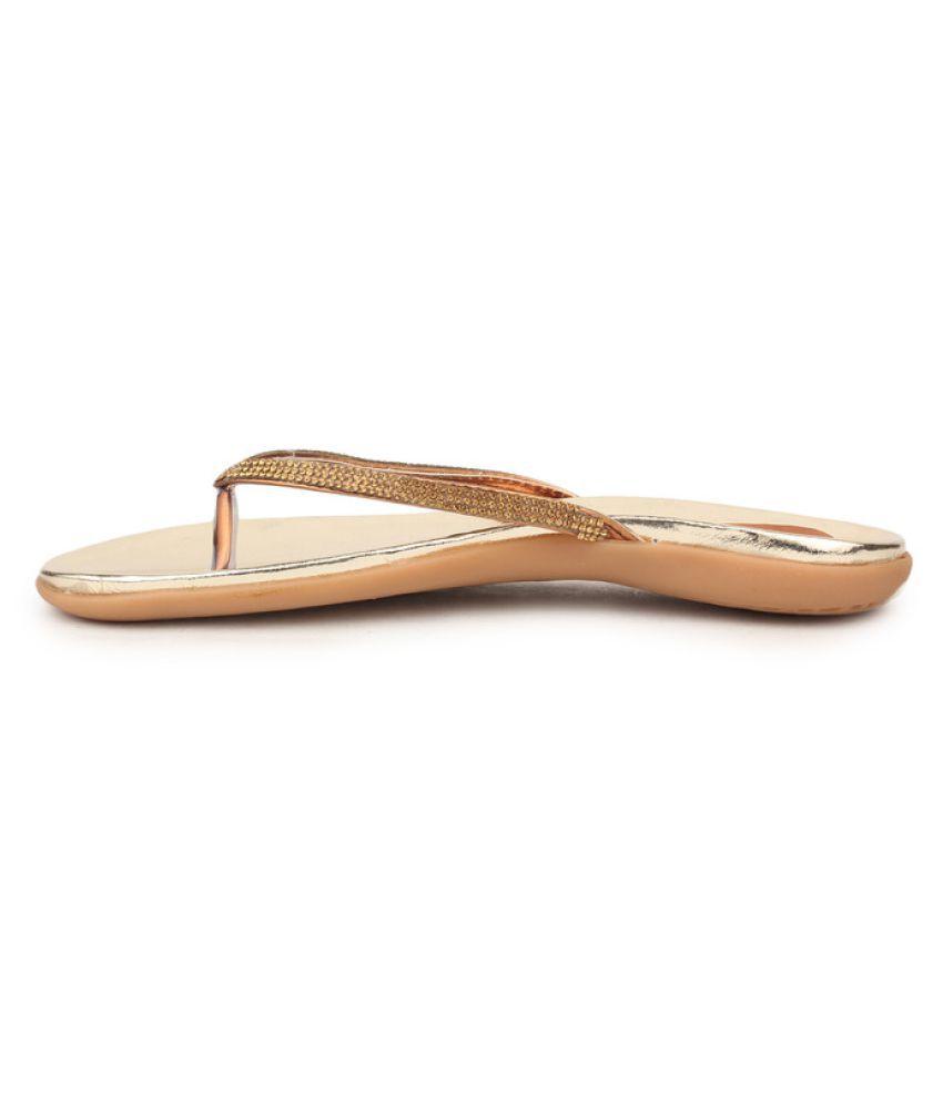 5c5b736c379 Sindhi Footwear Gold Flat Ethnic Footwear Price in India- Buy Sindhi  Footwear Gold Flat Ethnic Footwear Online at Snapdeal