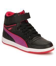 Puma Kids Puma Liza Mid Jr Shoes