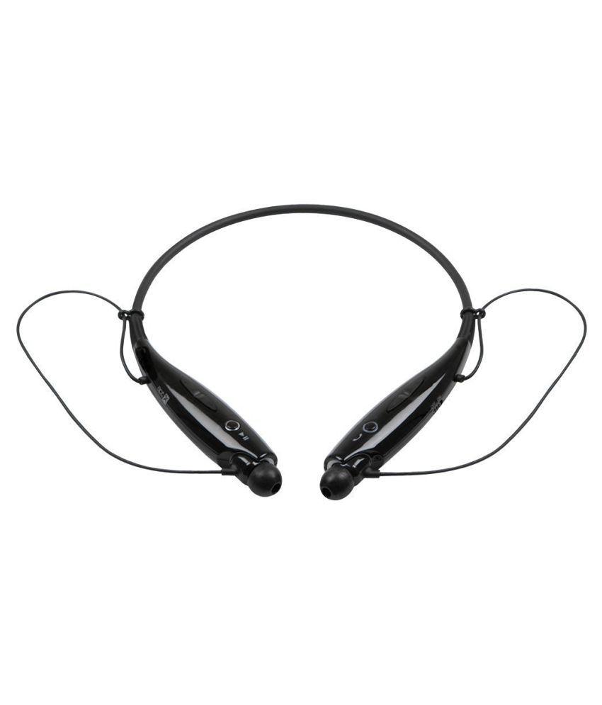Jiyanshi HTC Desire C Rocky Wireless Bluetooth Headphone Black