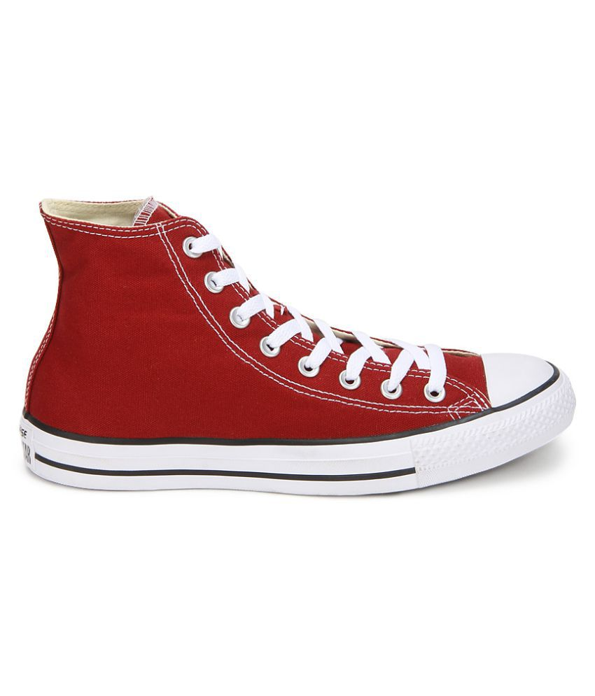 604157d89dac ... Converse All Star 150773CCTHI High Ankle Sneakers Red Casual Shoes ...