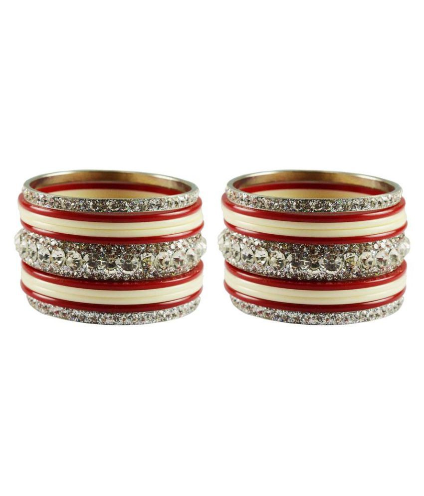 Vidhya Kangan Multicolour Bangle Set