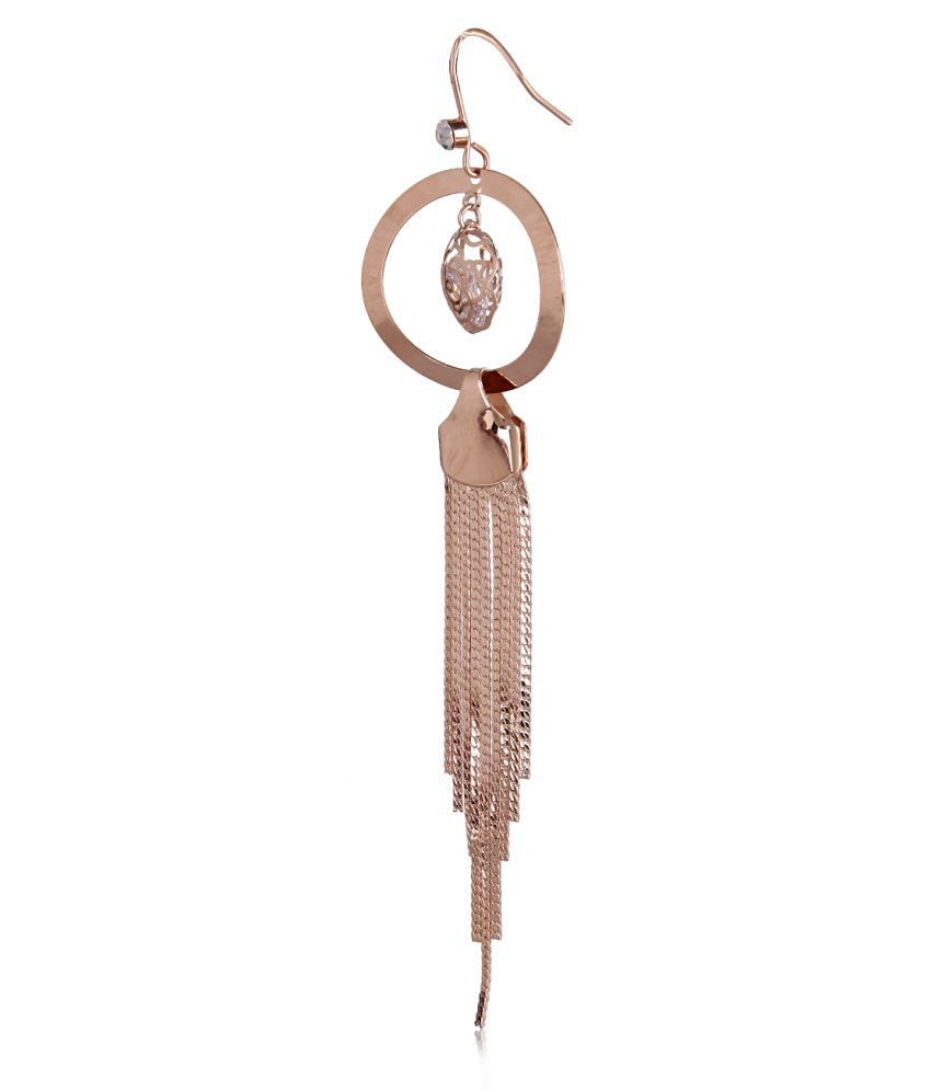 Faryal Rose Gold Earrings Buy Faryal Rose Gold Earrings Online At Best Prices In India On Snapdeal
