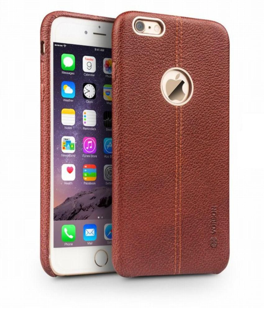 lowest price 4b737 50fd0 Apple iPhone 6S Cover by Mussa - Brown
