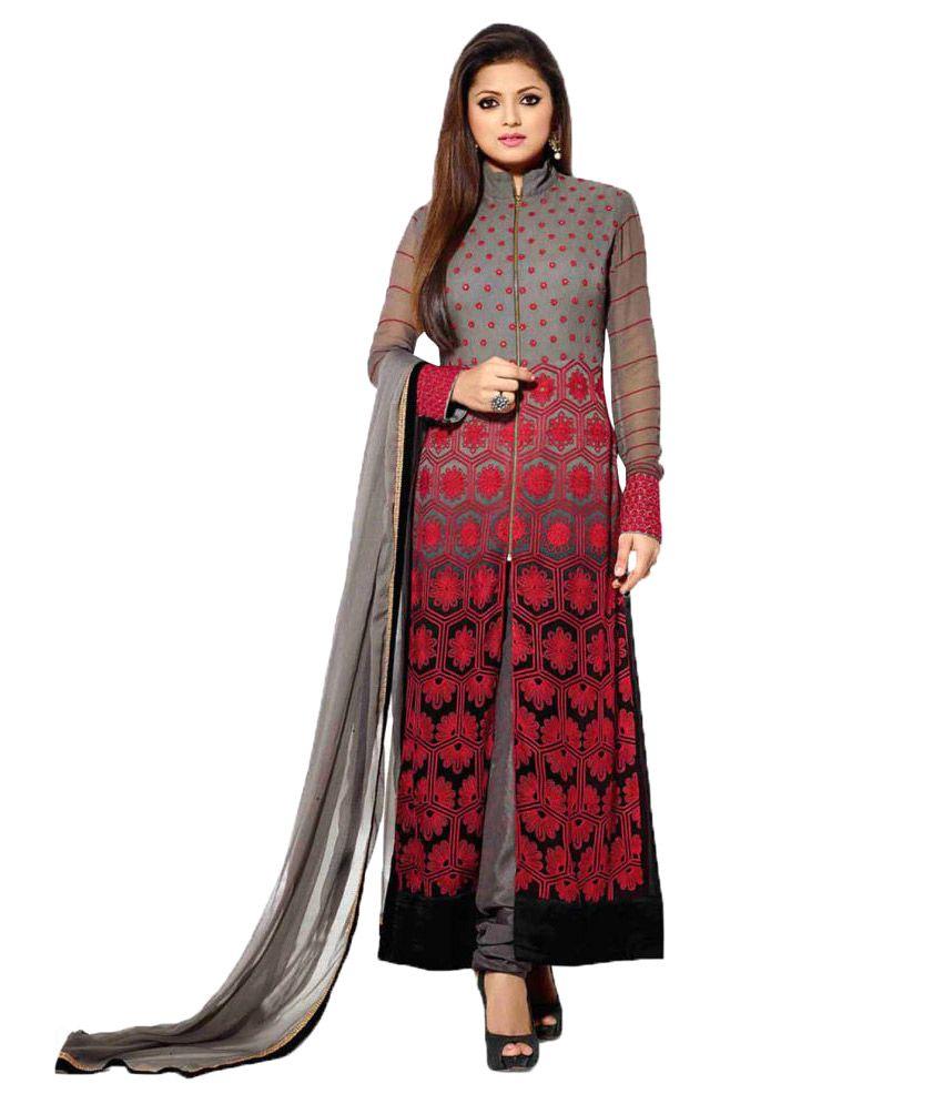 Shree Ganesh Tex Multicoloured Georgette Dress Material