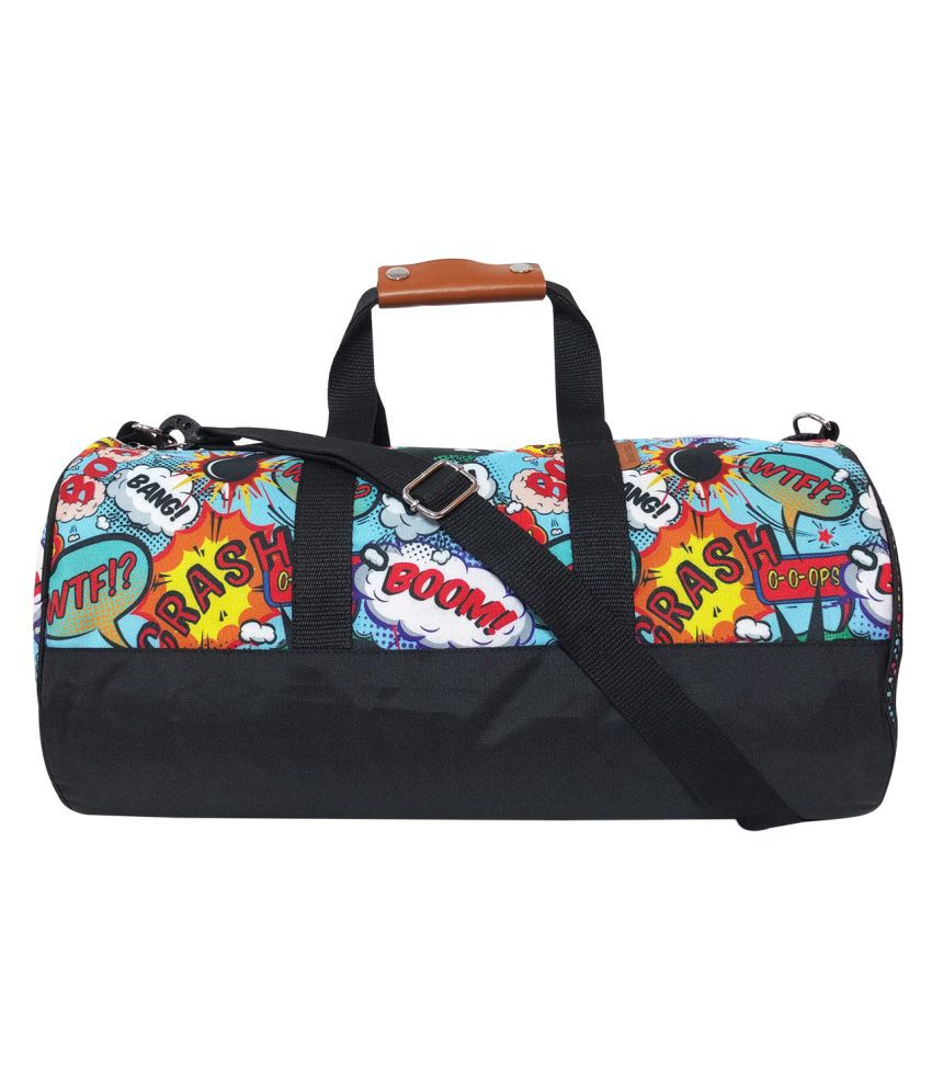 Lemon Trunk Multi Color Gym Bag
