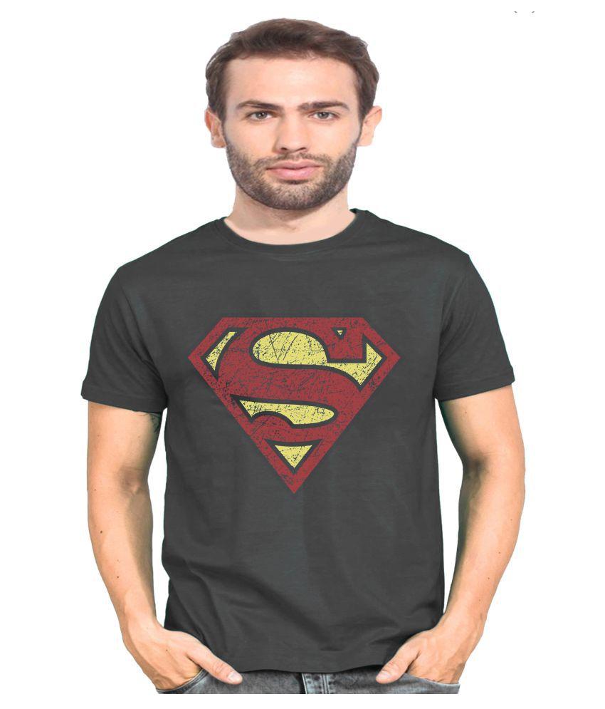 Standy Grey Round T-Shirt